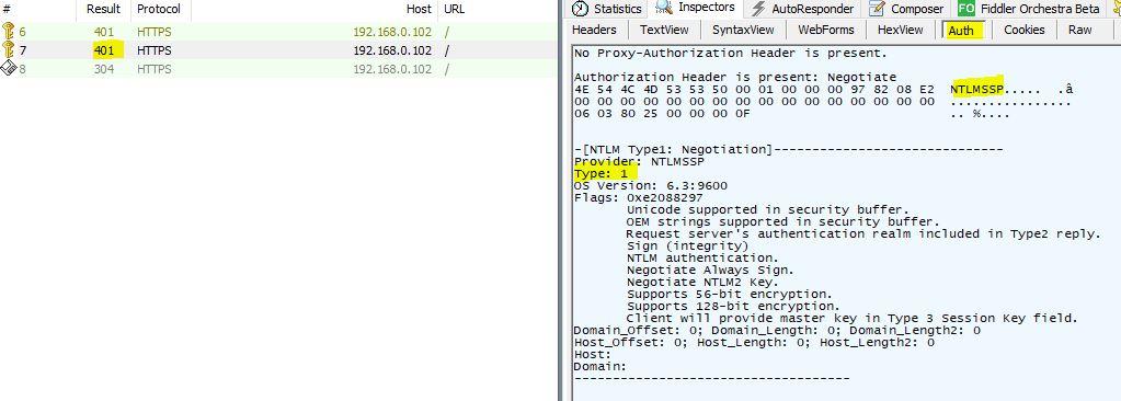 Exploration des entêtes HTTP WWW-Authenticate et